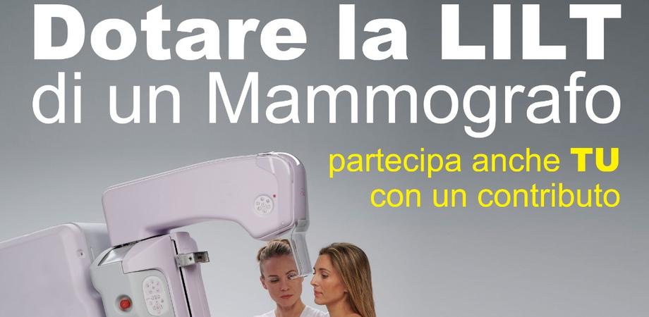 Tumore al seno, un mammografo per la sede Lilt di Caltanissetta: avviata una raccolta fondi