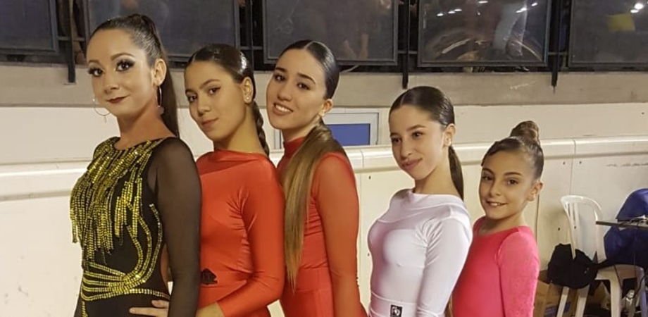 Danza sportiva al Palaghiaccio di Catania: tre coppie gelesi conquistano il podio