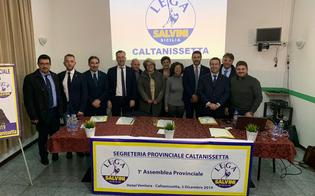 A Caltanissetta prima assemblea provinciale della Lega: nominati i commissari comunali