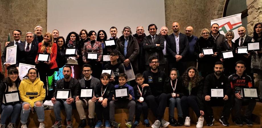 Festa dello Sport a Caltanissetta: premiati atleti, società e dirigenti che hanno dato lustro al territorio