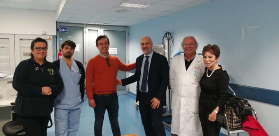 """Caltanissetta. Il direttore generale dell'Asp in visita ai reparti annuncia: """"In arrivo 47 nuovi infermieri"""""""