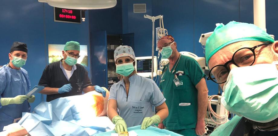 Caltanissetta, le nuove sale operatorie del Sant'Elia entrano in funzione: intervento sul primo paziente. Le foto