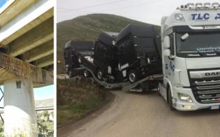 A19 interrotta per camion e bus, disagi per i tir sulle trazzere. Giammusso scrive al viceministro