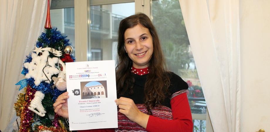 Da Caltanissetta a Torino, menzione d'onore per Chiara Amico in un concorso fotografico in Piemonte