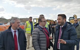 Il viceministro Cancelleri a Caltanissetta per un sopralluogo sulla Ss 640: