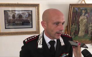 Il colonnello Baldassare Daidone saluta la città: