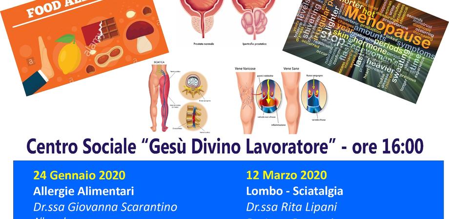 Alla Cittadella della Carità di Caltanissetta incontri con i medici: le allergie alimentari il tema del primo appuntamento