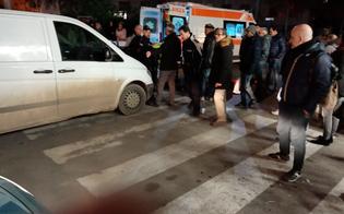 Caltanissetta, travolto da un furgone mentre attraversava la strada: ferito un 58enne