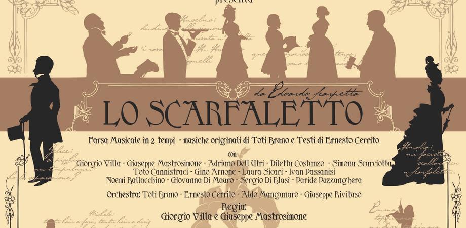 """Caltanissetta, Theatron porta in scena """"Lo scarfaletto"""": appuntamento al """"Regina Margherita"""""""