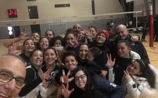 Volley, l'Albaverde si aggiudica il derby contro la Nike San Cataldo e consolida la seconda posizione in classifica