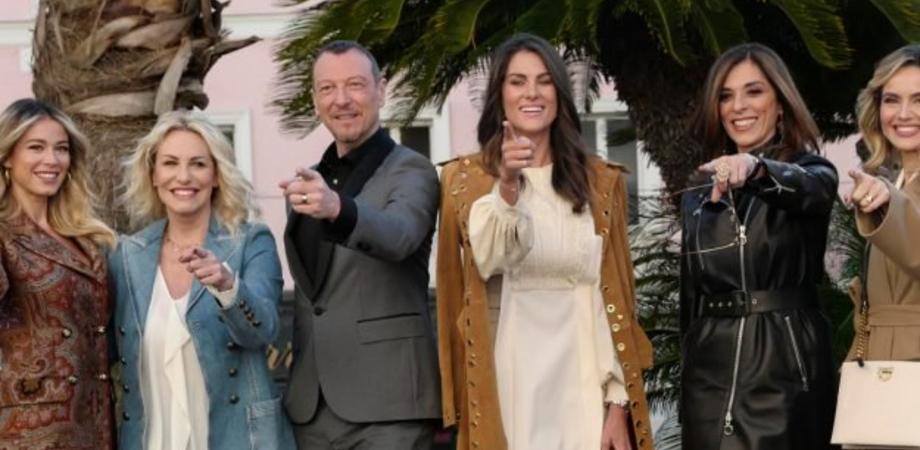 Sanremo, ecco le cinque donne che affiancheranno Amadeus sul palco dell'Ariston