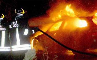 Serradifalco, a fuoco l'auto di un'avvocatessa. Già in passato era stata vittima di un episodio analogo