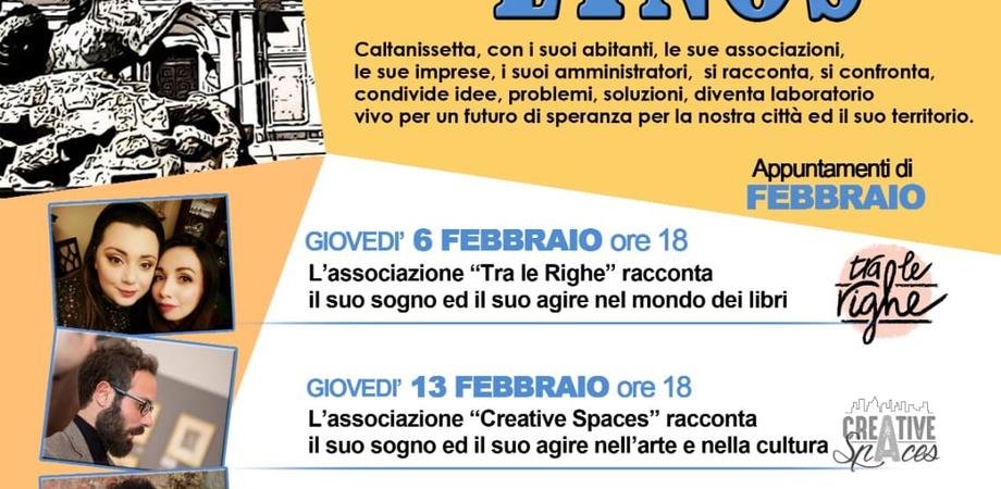"""""""La Città si racconta ad Etnos"""", al via a Caltanissetta tra febbraio e giugno una serie di incontri"""