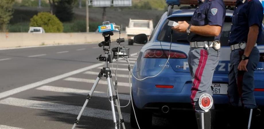 Alta velocità, autovelox della Polizia Stradale di Caltanissetta su diverse arterie stradali: ecco quali sono
