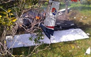 Precipita un piccolo aereo, morti nel siracusano un istruttore e un giovane allievo