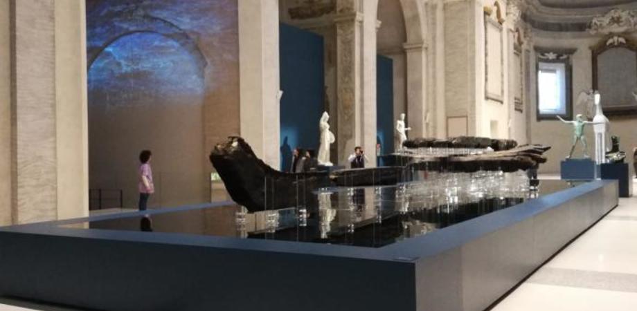 La nave arcaica di Gela debutta a Forlì: il relitto era all'interno di alcune casse al museo archeologico