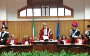 Caltanissetta, anno giudiziario. Vagliasindi: