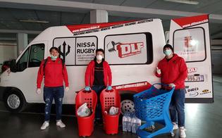 DLF Nissa Rugby, consegna gratuita della spesa a Caltanissetta tra solidarietà e sorrisi