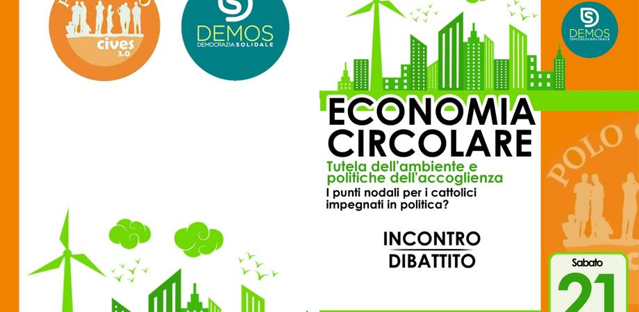 Economia circolare e impegno politico dei credenti, da Polo Civico e Demos un convegno nazionale a Caltanissetta