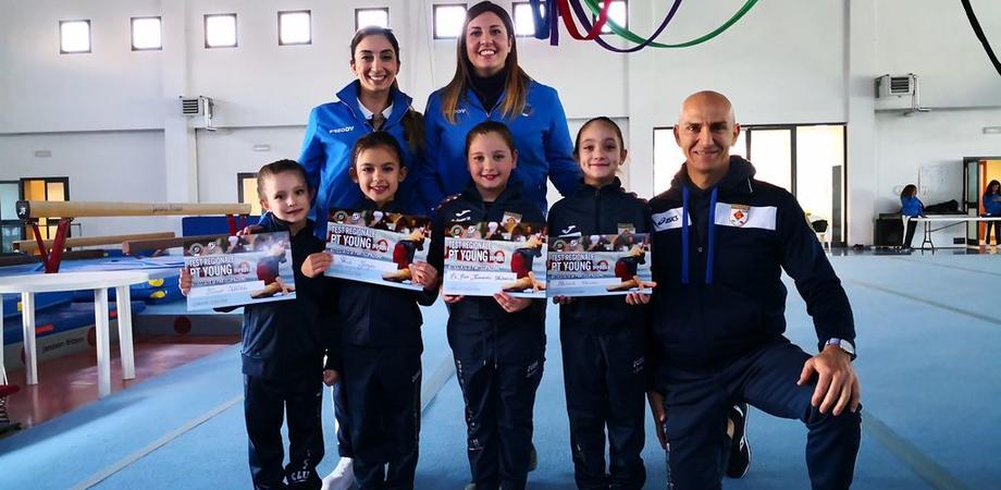 Ginnastica artistica, tre ori e un argento per le atlete della Gymnastics Club di Gela
