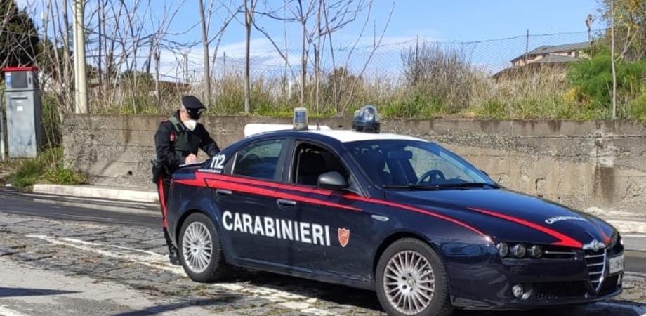 San Cataldo, evade dai domiciliari per andare a spasso: denunciato dai carabinieri