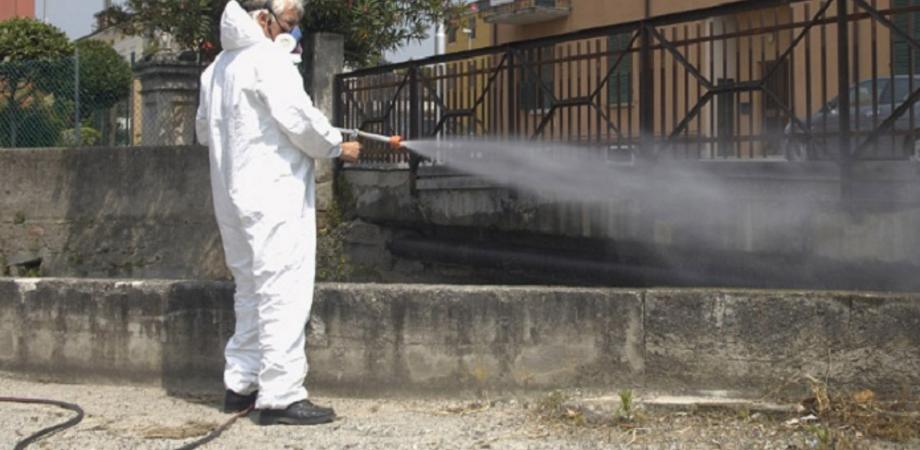 Gela. Al via da questa sera la disinfezione delle aree pubbliche, strade e marciapiedi
