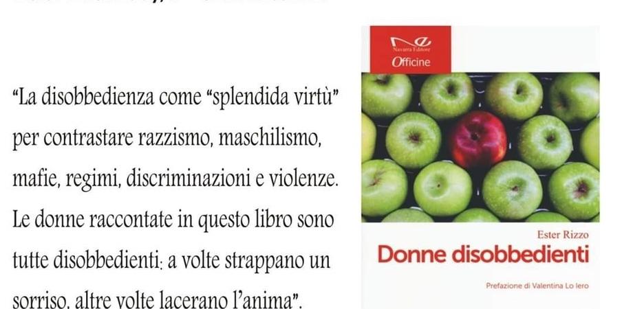 """Giornata internazionale della donna, a Caltanissetta verrà presentato il libro """"Donne disobbedienti"""""""
