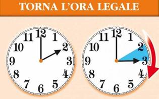 A marzo torna l'ora legale: lancette dell'orologio da spostare dalle 2 del mattino alle 3