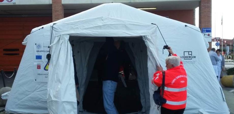 Coronavirus. A Mussomeli i consiglieri comunali chiedono l'allestimento di una tenda pre-triage