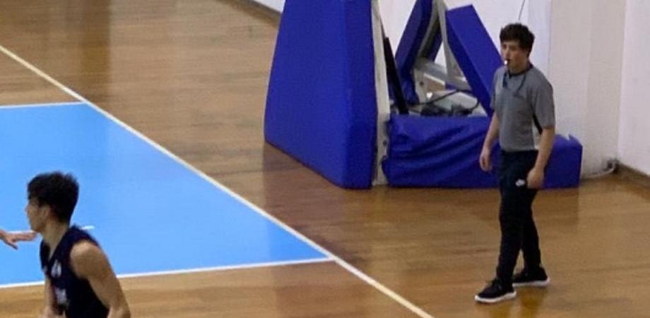 """Torneo """"Referee Jr Cup"""", nella sfida tra arbitri di Basket la Sicilia vince contro la Liguria: c'era anche il nisseno Federico Nicosia"""