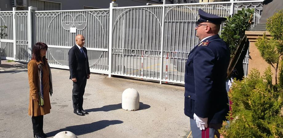 """Festa della polizia, il questore di Caltanissetta: """"Il nostro ricordo a chi combatte contro la malattia e a chi non ce l'ha fatta"""""""