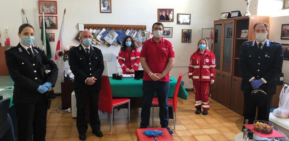 Il cuore dei poliziotti penitenziari di Caltanissetta, raccolta a favore delle famiglie in difficoltà