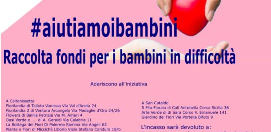 Raccolta fondi da destinare ai bambini bisognosi: l'iniziativa è di Federfiori Caltanissetta e San Cataldo