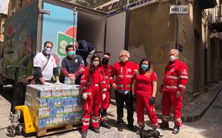 La Parmalat dona alla Croce Rossa 900 litri di latte: sono destinate alle famiglie in difficoltà di Caltanissetta