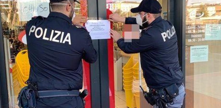 Caltanissetta, violano norme anti contagio: 2 esercizi commerciali dovranno rimanere chiusi per 5 giorni