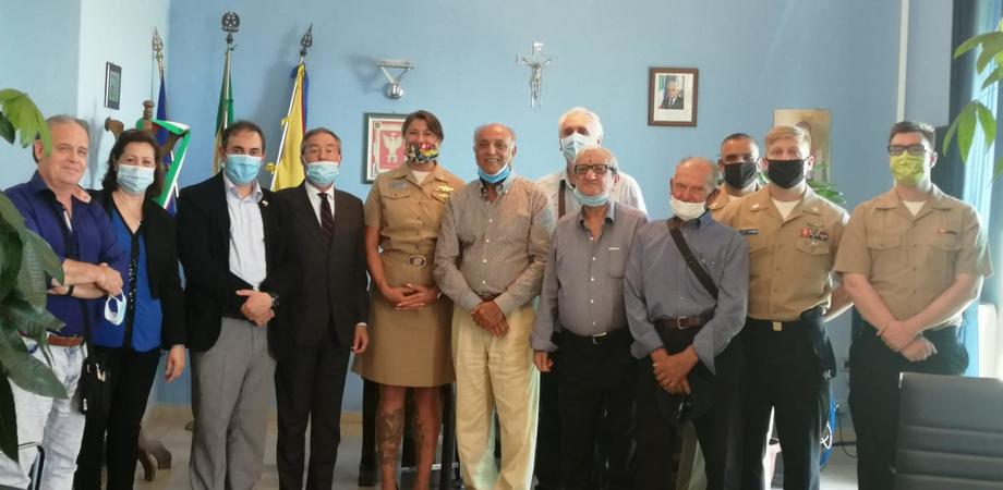 Sbarco degli alleati, il sindaco di Gela incontra una delegazione statunitense accompagnata dal Kiwanis