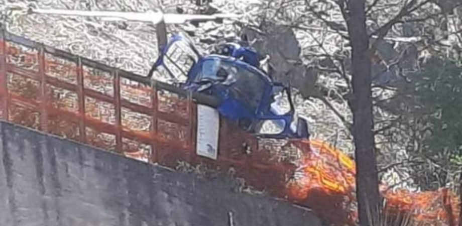Elicottero con due persone a bordo della Helixcom di Caltanissetta si schianta sulle Madonie