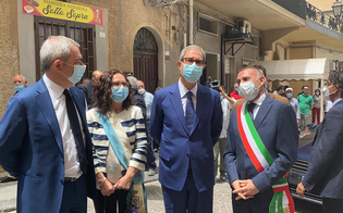 Butera, Musumeci in visita al Comune: