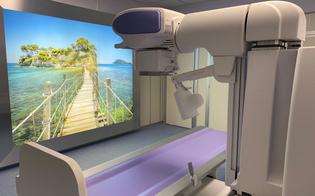 Caltanissetta, al Sant'Elia nuova apparecchiatura per esami rx con parete retroilluminata per il relax dei pazienti