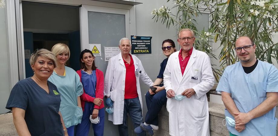 Al pronto soccorso infettivologico di Caltanissetta medici ed infermieri in prima linea nella lotta al Covid-19
