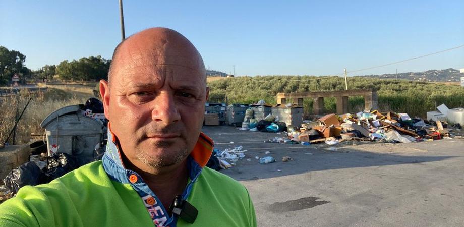 "Caltanissetta, Rosario Gentile denuncia: ""La fontana Xirbi invasa dai rifiuti"""