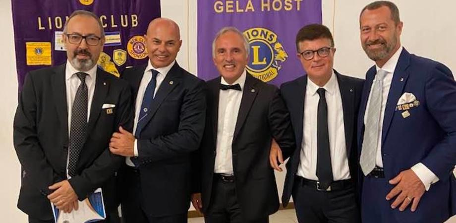 Passaggio della campana al Lions Club Host di Gela: l'industriale Michele Greca è il nuovo presidente