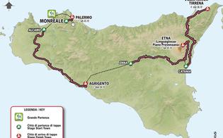 Il Giro d'Italia partirà dalla Sicilia: il 3 ottobre prima tappa Monreale - Palermo