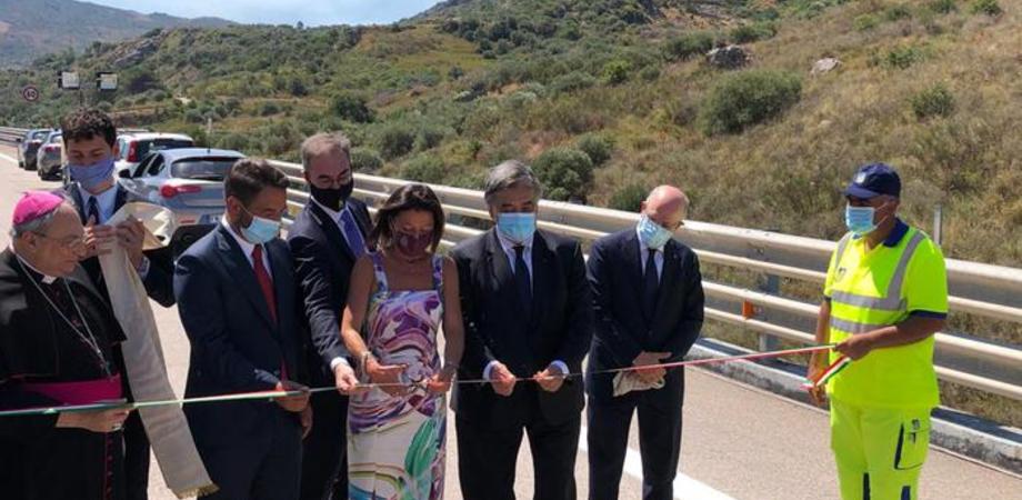 Dopo 5 anni riapre il viadotto Imera, inaugurazione sulla A19 Palermo-Catania: assente tutto il governo Musumeci