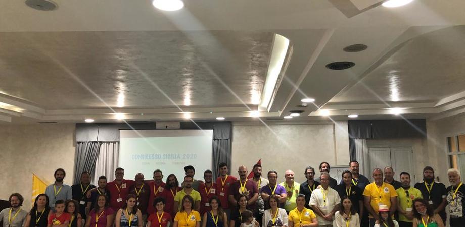 Gli sbandieratori di Gela al Congresso Sicilia di Agrigento: nasce la federazione storica