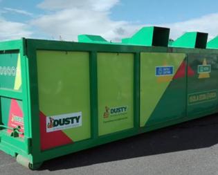 Caltanissetta, l'isola mobile ecologica della Dusty il lunedì avrà una nuova postazione