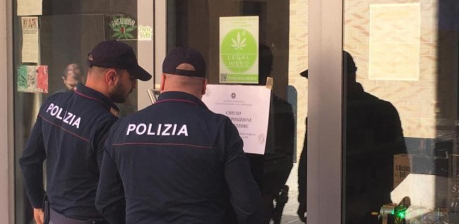 Caltanissetta, commercializzava infiorescenze di cannabis nonostante l'obbligo di chiusura: nuovo provvedimento per un esercente