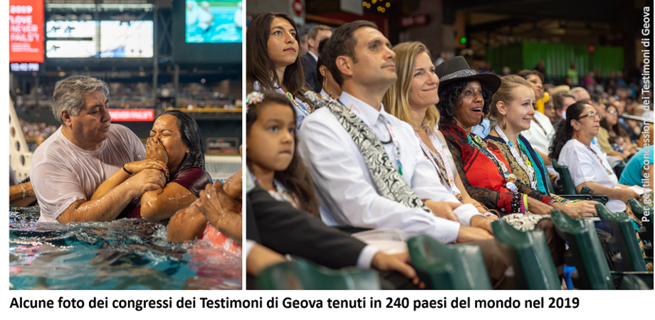 Covid-19, annullati i raduni annuali dei Testimoni di Geova a Caltanissetta