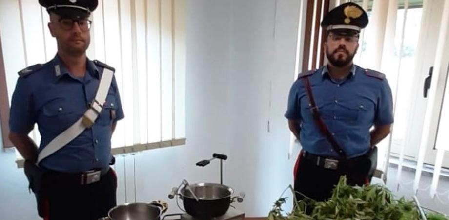 In giro per la città con un sacco di marijuana: arrestati due sancataldesi trovati con due chili di droga