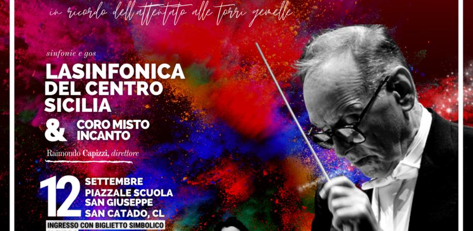 Torna a San Cataldo il tradizione concerto fine estate, sul palco la Sinfonica del Centro Sicilia